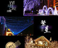 10pcs 10 m 100 beads waterproof outdoor holiday flashing LED string lamp Christmas wedding decoration lights New Year neon stars
