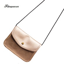 Famous Brand  Pu Leather Women Messenger Bags Female Casual Fashion Envelope Bags 2016 Ladies Solid Covers Cards Shoulder Bags