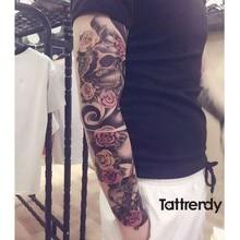 Full Flower Arm Tattoo Sticker (25 designs)
