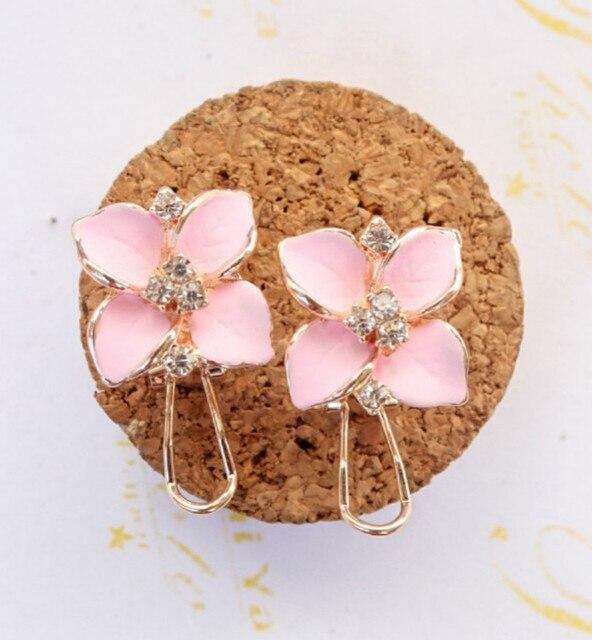 Matte Colored Flowers Earrings 6
