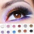 12 Cores Glitter Sombra Em Pó Pigmento Mineral Lantejoula Maquiagem Cosméticos Set Long-lasting sombra de Olho À Prova D' Água Profissional