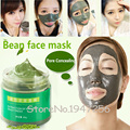 Free shipping Authentic Products 60g Organic Mung Bean Mud Face Mask, Acne Treatment Blackhead Remover Peeling Off Facial Mask