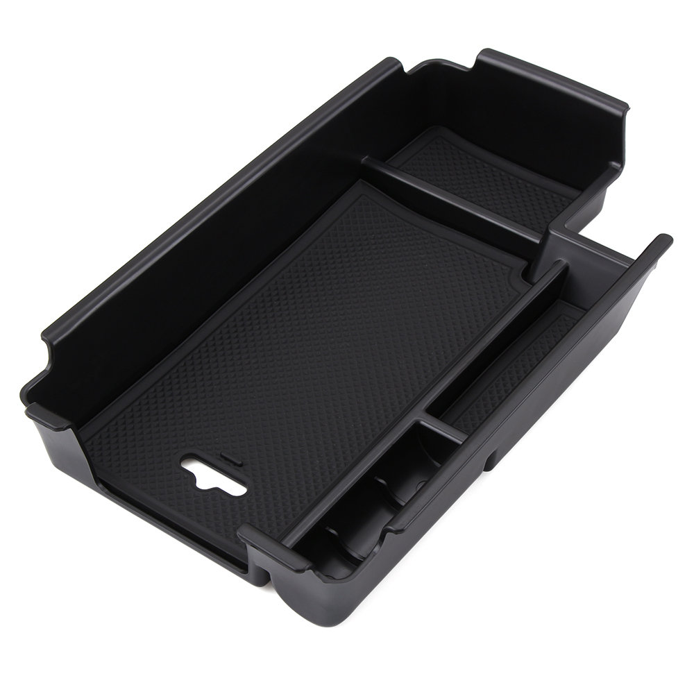 Central armrest storage box container holder tray for audi a4 b9 2017 accessories car organizer car