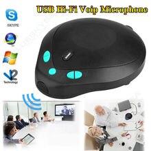 Ücretsiz kargo! USB 3.5mm Hi-Fi Voip Konferans Istasyonu Yönlü Telefon Mikrofon Hoparlör