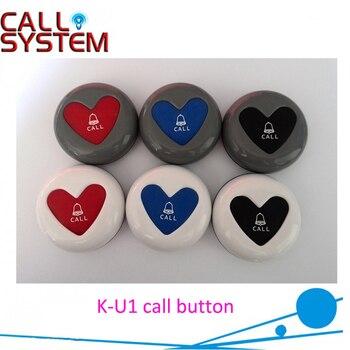Newest Wireless Transmitter Button K-U1 for service in restaurant cafe hotel