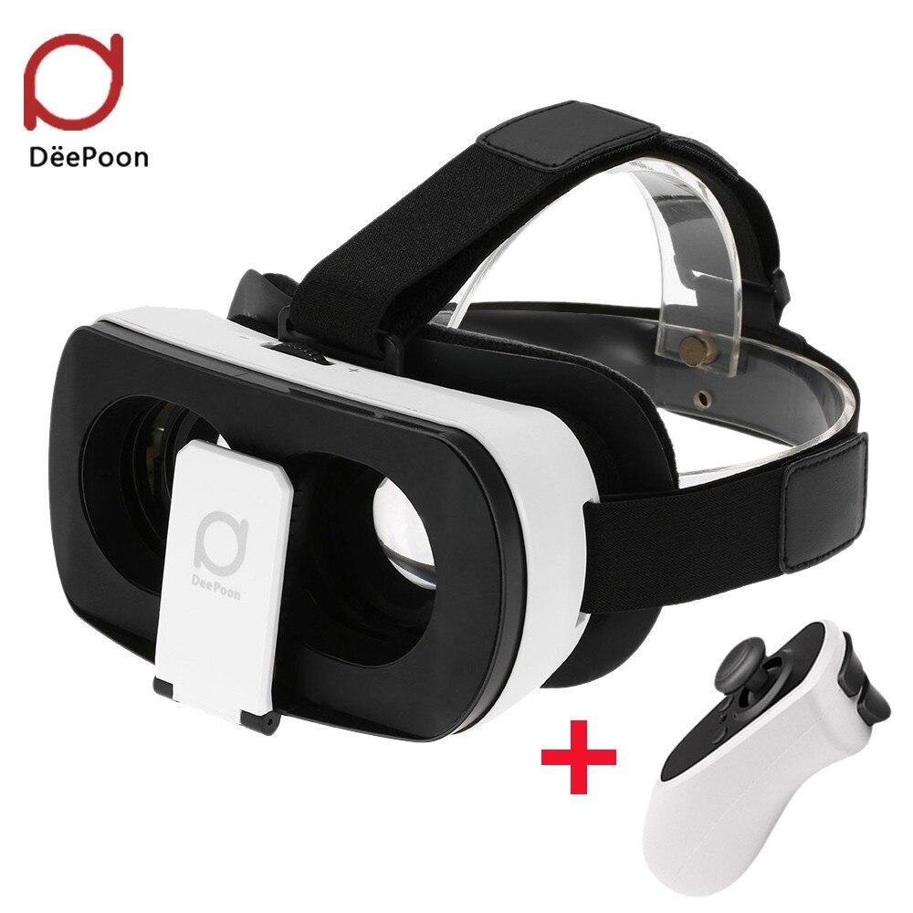 F17761/62 3D VR <font><b>Glasses</b></font> DeePoon V3 Real <font><b>Virtual</b></font> <font><b>Reality</b></font> Headset Helmet 3D VR Gaming <font><b>Video</b></font> Bluetooth Gamepad <font><b>for</b></font> <font><b>Android</b></font> <font><b>iOS</b></font> APP