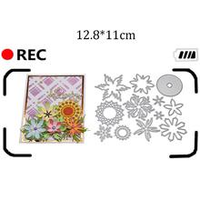 New arrivage Design Craft Metal Cutting Dies cut die new flower decoration Scrapbooking Album Paper DIY Card Embossing