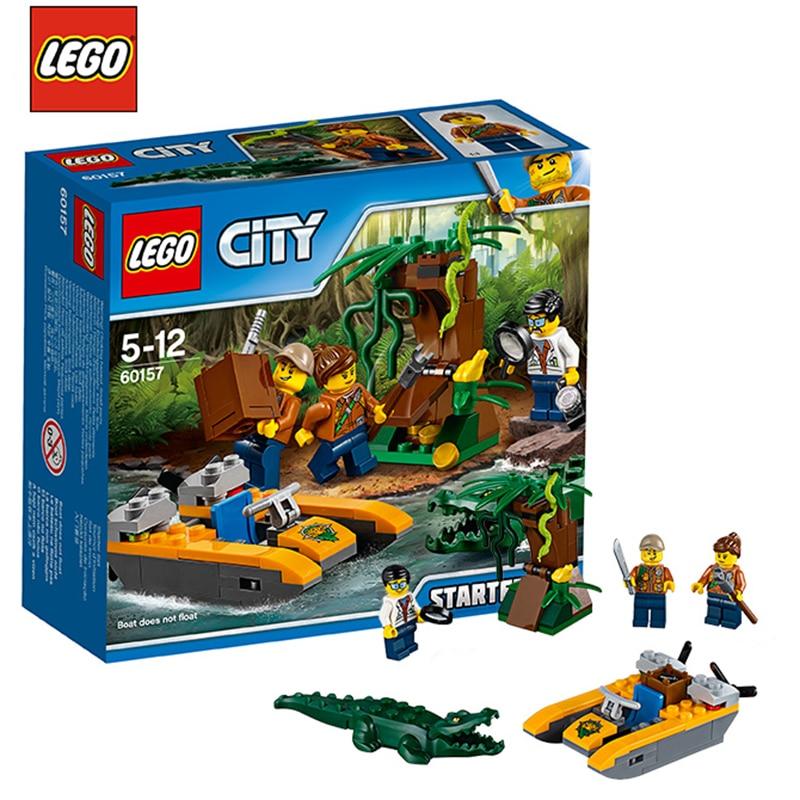 LEGO High City Series 60157 Jungle Entry Set LEGO CITY ...