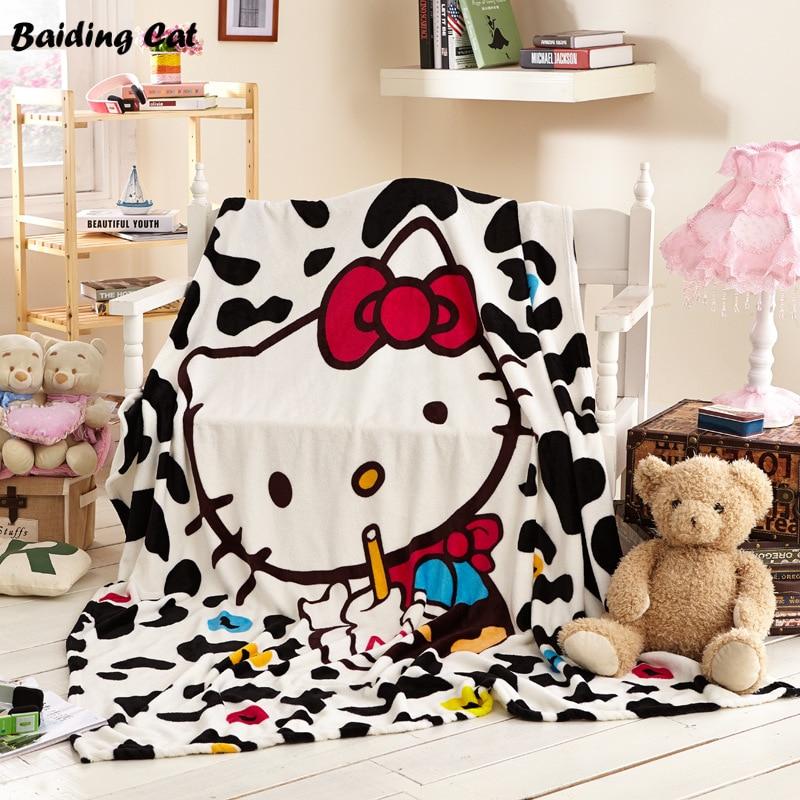 Hello Kitty Fleece Deken.Goede Koop Thuis Textiel Hello Kitty Coral Fleece Deken Voor
