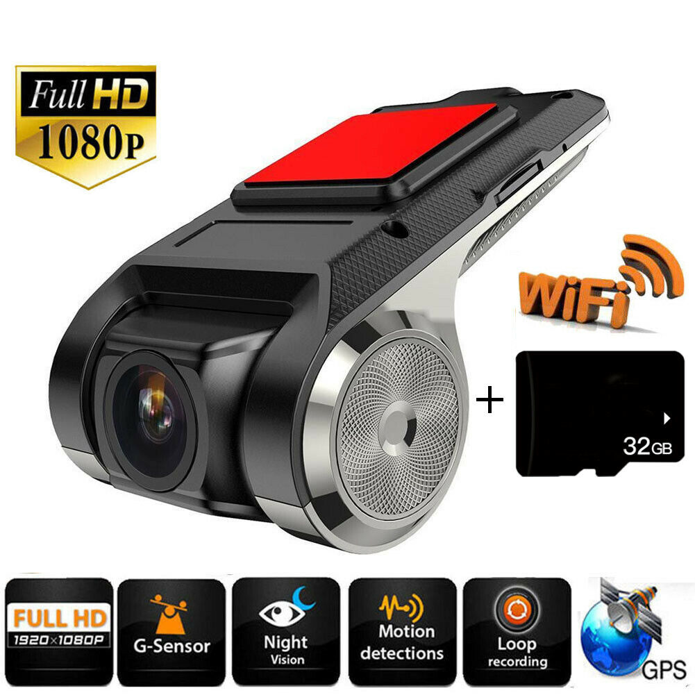 2019x28 mini carro dvr câmera completa hd 1080 p gravador de vídeo digital automático dvrs adas câmera g-sensor traço cam wifi gps dashcam