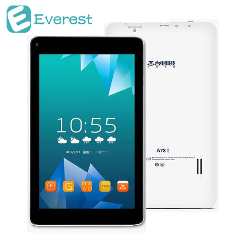 Teclast A78T Android 4 4 Tablet PC 512MB 8GB 7 Inch RK3126 Quad Core 1 3Ghz