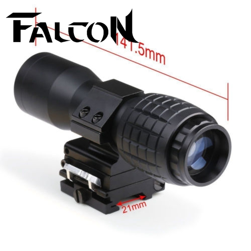 Free Shipping 20mm Rail Tactical 4x Magnifier Quick Flip Scope w/ Flip To Side Mount Fit For Holographic Sight. free shipping 20mm rail tactical 4x magnifier quick flip scope w flip to side mount fit for holographic sight