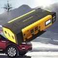 Car Emergency 16000mAh 12V Jump Starter 600A Peak Car Battery Charger 4USB Phone Laptops Power Bank Compass SOS Lights Free Ship
