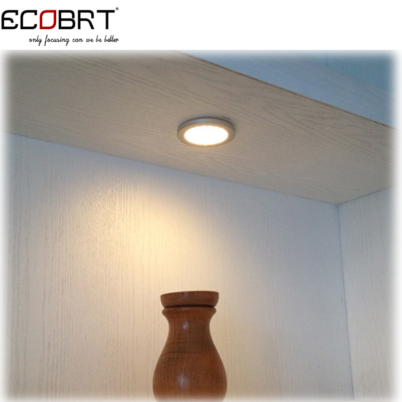 Купить с кэшбэком Wholesales Top fashion 24v led flat under cabinet lights 3W 12v surface battery marine boat lighting lamps 50pcs/lot