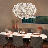 Livewin акрил Открытый Подвесные Светильники Обеденная шнур висит современные Кухня подвесной светильник ресторан освещение светильники
