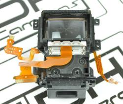 95%new ViewFinder For Canon 400D Rebel XTi View Finder With Focusing Screen Repair Part