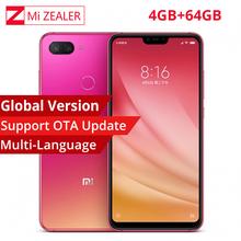 "Global Version Xiaomi Mi 8 Lite 4GB RAM 64GB ROM Mobile Smartphone  6.26"" Dual Camera  2280x1080  24MP Snapdragon 660 Octa Core"
