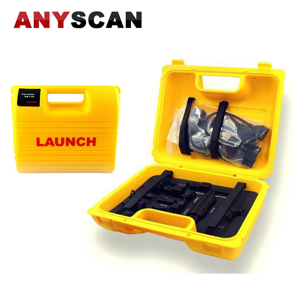 Launch X431 Diagun IV Diagun III 3 Yellow Box Launch X431 iDiag Connector Set Package for X431 V/PRO/5C/V+ Full Set Cables тестер аккумулятора launch x431