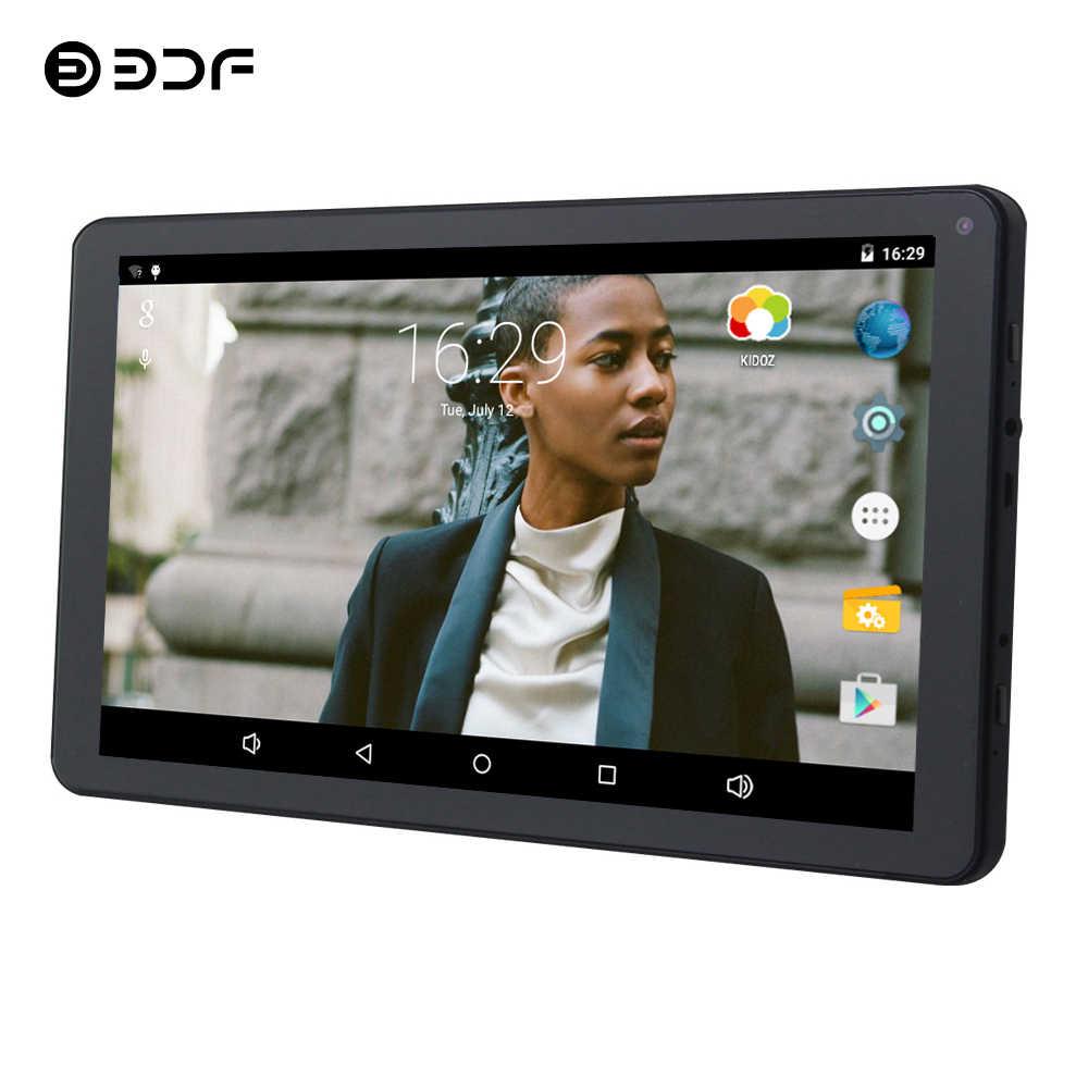 BDF Çocuklar Tablet 9 Inç Tablet Pc Dört Çekirdekli 1 GB + 8 GB Android 5.1 Mini Bilgisayar WiFi Tabletler dizüstü bilgisayar 7 8 9 10 10.1 Tablet Android