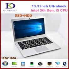 "Core i5 5th gen. Процессор ноутбук, 13.3 ""Ноутбук, 8 ГБ Оперативная память, 256 ГБ SSD + 1 ТБ HDD, 1920*1080 HDMI, 8cell Батарея, Windows 7/8/10"
