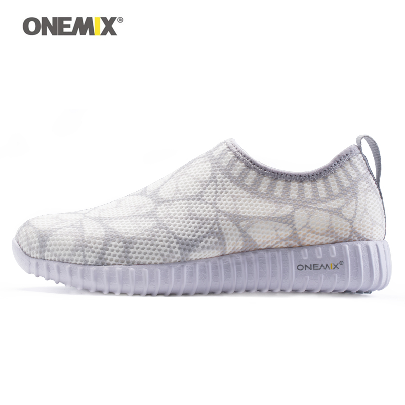 ONEMIX Woman Running Shoes Mesh Breathable Durable Rubber Women Sport Sneakers Walking Light weight Run Trainers Fitness