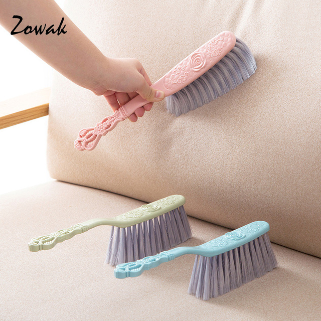 1pc Sofa Brush Counter Duster Bed Sheets Debris Cleaning Soft Bristle Desk Small Particles