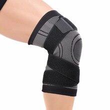 Compression Knee Brace with 4 Way Stabilizer Straps