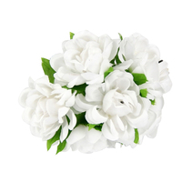6PCS/Lot DIY New silk flower Rose Artificial Flower Bouquet For Home Wedding Party & Clothing Hats Accessories Rose Flowers