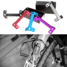 New Bicycle Bottle Cage Extension Double Head Bottle Cage Mountain Bike Cup Holder Expansion Frame Double Kettle Bracket Seat new high quality bicycle cup holder mountain bike bottle cage riding equipment with tool durable bicycle cup holder wholesale