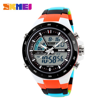 SKMEI Women Sports Watches Fashion Casual LED Waterproof Multifunction Digital Quartz Watch Student Wristwatch Relogio Feminino 1