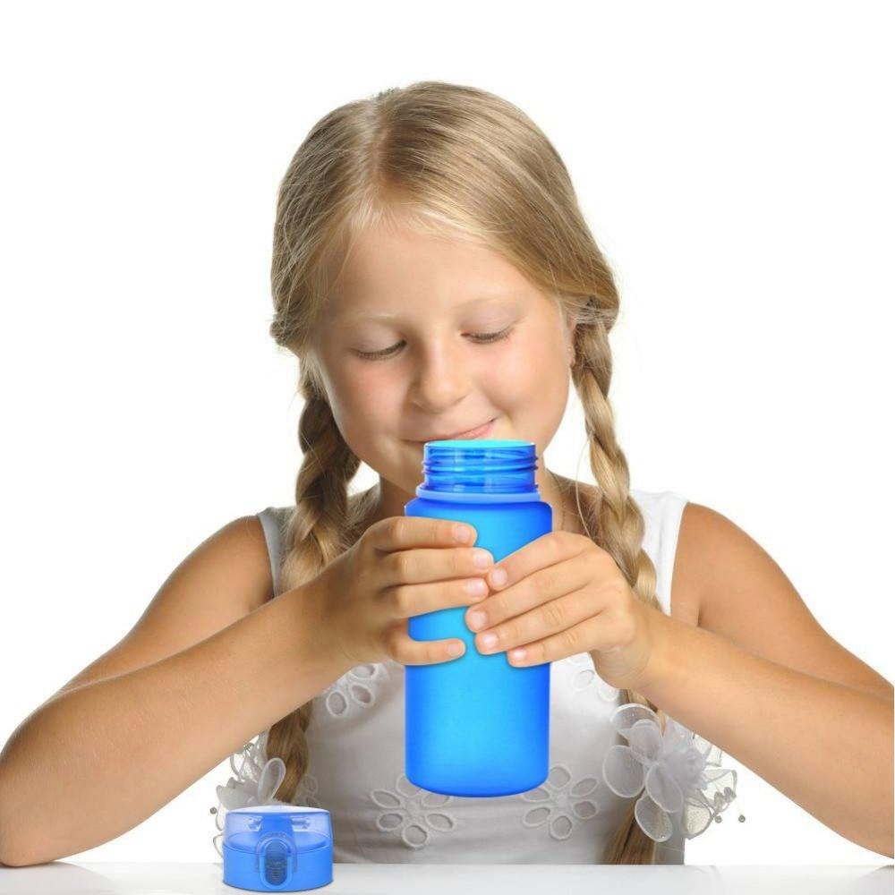 400ML Outdoor Sport Water Bottles gift food grade Pressing Type Leak-proof Drinking Bottles Portable travel office Water Bottle