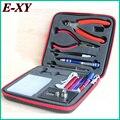 E-XY Magic stick CW tool coil vape Complete kit E-cig master 6 IN 1 DIY jig vape tool kit PE Box ecig rda tool kit atomizer coil