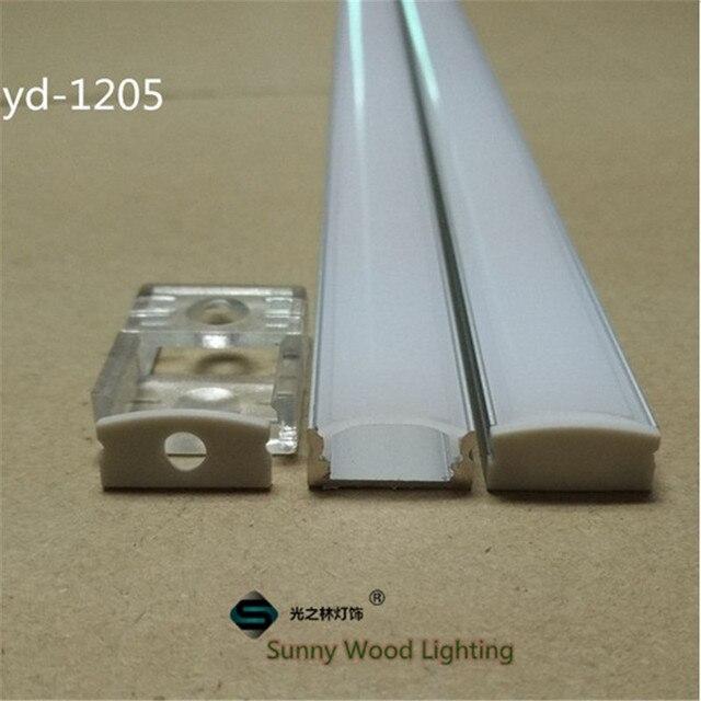 5-15set/lot 12mm strip  led aluminium profile for led bar light, led  aluminum channel,  aluminum housing Sunny Wood YD-1205