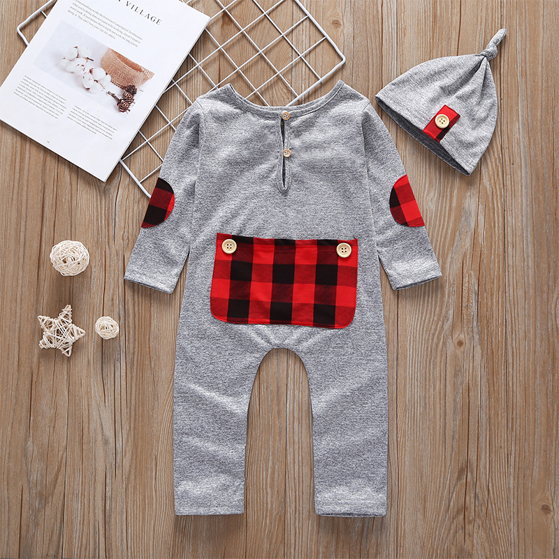 newborn boy clothes Baby Boy Girl Warm Infant Romper Jumpsuit Long Sleeve Clothes Sweater Outfit newborn baby set