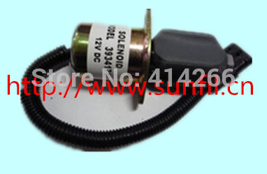 Fuel Shutdown Solenoid Valve for  engine 3919423,24V jiangdong engine parts for tractor the set of fuel pump repair kit for engine jd495