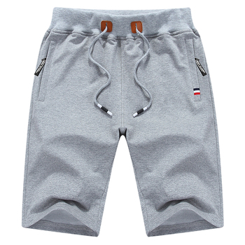 summer cotton casual shorts men
