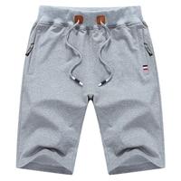 HanHent Cotton Stretch Waist Shorts Men Solid Color Fitness Short Large Size Fashion Bermuda Masculina Comfort