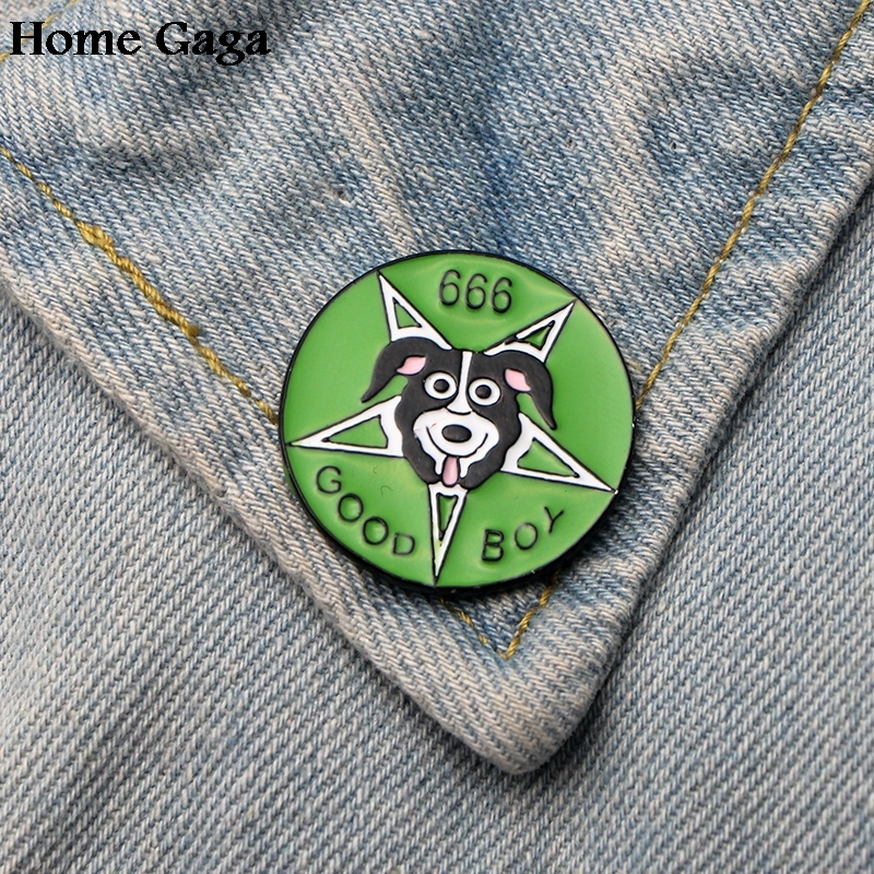 Just 10pcs/lot Homegaga Mr Pickles Dog Zinc Tie Cartoon Funny Pins Backpack Clothes Brooches For Men Women Hat Badges Medals D1839 Arts,crafts & Sewing