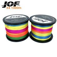 1000M JOF Brand Super Strong Japan Multifilament PE Braided Fishing Line 20 30 50 40 60