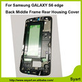 5pcs/lot Free DHL New Replacement Repair Part Front Housing Middle Frame Bezel Plate Cover for Samsung Galaxy S6 edge G925