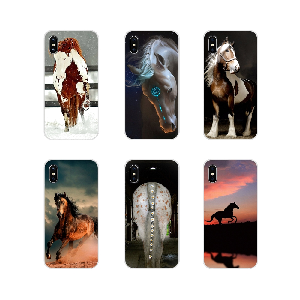 Accessories Phone <font><b>Cases</b></font> Covers For <font><b>Samsung</b></font> A10 A30 A40 <font><b>A50</b></font> A60 A70 <font><b>Galaxy</b></font> S2 Note 2 3 Grand Core Prime <font><b>Horse</b></font> Series image