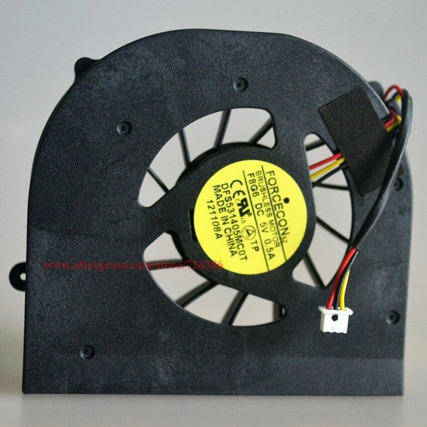 10 шт./лот Горячая Продажа 5735 ноутбук вентилятор для ACER ASPIRE 5735 5735Z 5535 5235 5335 ПРОЦЕССОРНОГО кулера, 100% НОВЫЙ 5235 ноутбук процессора вентилятор охл...