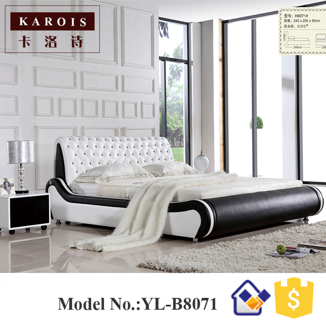 Latest Double Bed Designs Modern King Size Sleep Pod With Soft Headboard Bed