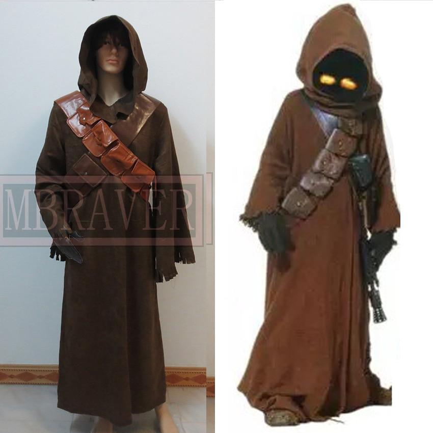 Star Wars Jawa Adult Costume Custom made Halloween carnival cosplay costume Custom Made Any Size