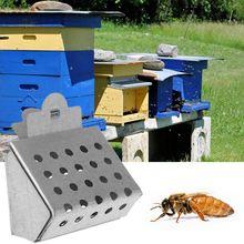 Bee Cage Beekeeping Queen Clip Catcher King Rearing Breeding Tool