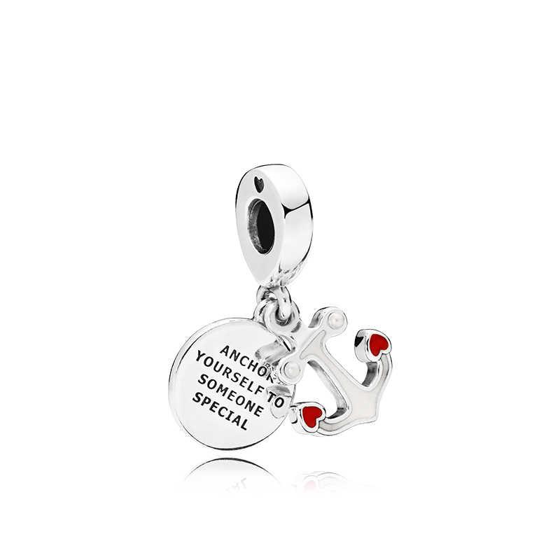Горячая Мода Кристалл кошелек капли воды бантом цветок Любовь Крыло ангела с сердцем Бусины Fit Pandora очаровательный браслет женщин делая ювелирные изделия