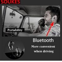 1 CONJUNTO Carro de Carregamento Usb Mini fone de Ouvido Bluetooth Para Subaru Forester Impreza Kia Ceed Rio Citroen C4 C3 C5 Fiat BMW E70 G30 E30