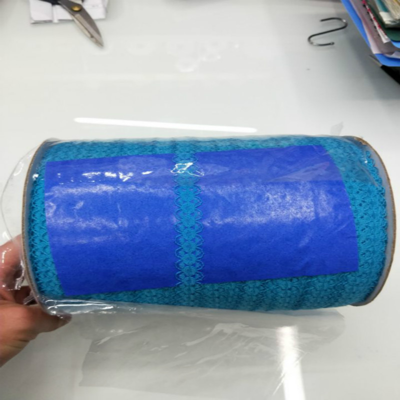 Новинка! 10 ярдов/партия красивые 15 мм широкий синий отверстие кружево ленты Вышивка Одежда отделка украшения