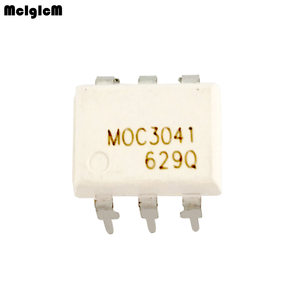 200pcs optocoupler moc3041 dip 6 Two way thyristor driver