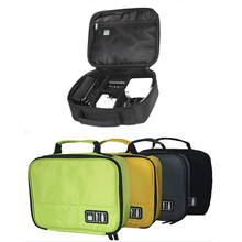 Digital Storage Bag Pouch Data Cables Usb Flash Drives Case Electronic Travel Organizer Hanging Storage Pockets Rangement Pouch